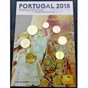 Série Fleur de Coin PORTUGAL 2018 - Série 1 cent à 2 euros PORTUGAL 2018