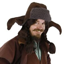 Hobbit Bofur Hat Halloween Costume Replica Warm Hat Casual Wear One Size Elope