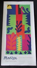 Henri Matisse The Cut Outs Poster National Gallery of Art 1977