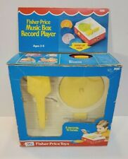 Fisher Price Music Box Record Player / 1971 Complete with Original Box