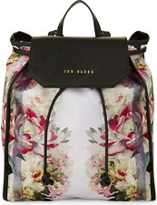 TED BAKER LONDON Noellie Painted Posie Backpack Pink Floral NWT