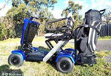 BRAND NEW FOLDABLE TWIN SEATER GOLF CART 4 WHEELS DRIVE 2000W AUTO FOLDING CART