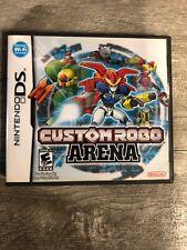 Nintendo DS: Custom Robo Arena - Complete - Used - Very good Authentic