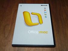 Microsoft Office Mac 2004 Standard Edition deutsche Vollversion retail