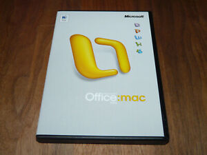 Microsoft Office Mac 2004 Standard Edition deutsche Vollversion retail