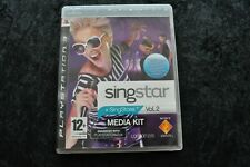 Singstar Vol 2 Media Kit Playstation 3 PS3