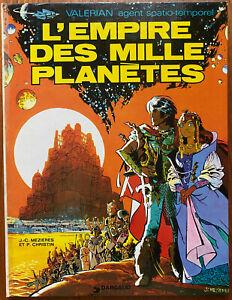 VALÉRIAN T 2 L'empire des mille planètes 1971 Christin Mézières Réédition 1975