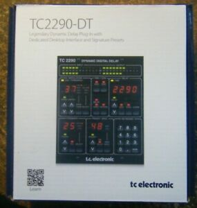 TC Electronic TC2290-DT Dynamic Delay PlugIn Controller Desktop Interface