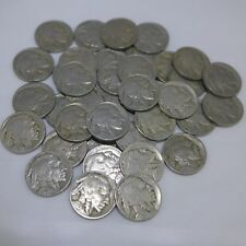 Roll of 40 - Buffalo Nickels -readable dates mixed 1920's and 1930's
