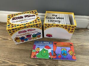 The Complete Collection of 36 Little Miss books by Roger Hargreaves + Christmas