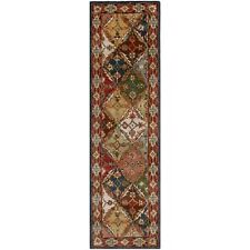 Safavieh Green / Red Heritage Wool Runner 2' 3 x 10'