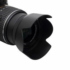 HB-69 Lens Hood For Nikon AF-S DX 18-55mm f/3.5-5.6G VR II D3200 D3300 D5200 C