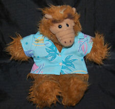 "Alf Alien Hawaiian Surfer Hand Puppet Burger King Vintage 1988 Plush 11"" Toy"