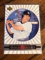 Hideki Matsui 2003 Upper Deck Standing O World Premieres Rookie RC Card Yankees