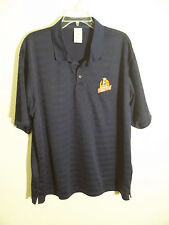navy blue Idaho Stampede golf polo shirt by Adidas size Xl