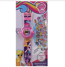 Reloj Proyector LITTLE PONY Projection watch Proyecta 24 imágenes