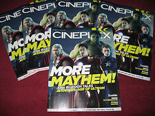 CINEPLEX MAGAZINE ''AVENGERS:AGE OF ULTRON'' ROBERT DOWNEY JR. CHRIS HEMSWORTH,