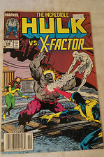 The Incredible Hulk -  Classic Marvel Comic Book -The Hulk vs X-Factor -Extremes