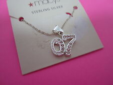 925 Sterling Silver Class Of 2007 With CZS Necklace
