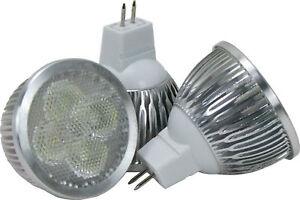 4 x Replacement Bulbs, Halogen Quartz. 3 x 20w and 1 x 50w