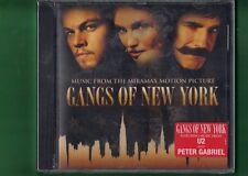 GANGS OF NEW YORK OST COLONNA SONORA CD NUOVO SIGILLATO
