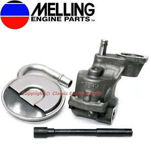 Melling HV Oil Pump Kit Some V6 & V8 sb Chevy 400 350 327 307 305 283 267 262