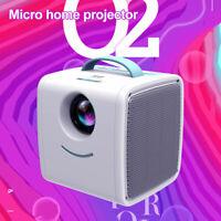 Q2 Mini Pocket Projector LED Home Theater Cinema 1080P Full HD USB/HDMI/TF /AV
