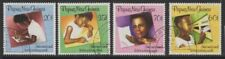 PAPUA NEW GUINEA SG589/92 1989 LETTER WRITING WEEK FINE USED