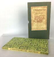 Vintage Book A Shropshire Lad Housman Peter Pauper Press Slipcase Poetry HC