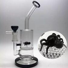 ~Spider Bong~ Glass Dab Rig Water Pipes Bongs honeycomb perc pipe bowl nail oil