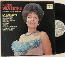 FLOR SILVESTRE La Basurita LP VG+ vinyl (1980) Bueno A Todo