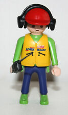 PLAYMOBIL - 3603 MECANICIEN FORMULE 1 RADIO / RACING CAR MECHANIC
