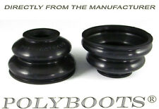 2x Polyboots Ball Joint Dust Boots 18x47x30mm Suspension Replacement Rubber Boot
