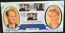 Benham 19.6.1999 Royal Wedding of Edward & Sophie FDC signed SUE BARKER, Tennis