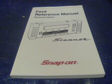 New Snap on Ford Reference Manual Scanner 11th Edition 2001 ZMT2500-1000-02
