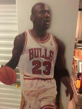 1990's Michael Jordan Chicago Bulls Cardboard Stand-Up Life Size Gatorade