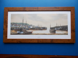 SHIPPING PRINT - SAFE HARBOUR BY KEN HAMMOND