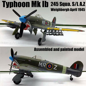 Easy model Hawker Typhoon MK 1B 245 Squadron S/L A.Z 1/72 no diecast plane