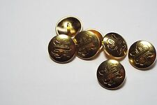 8pc 20mm gold celtic knot effet métal militaire blazer manteau cardigan bouton 2840