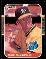 1987 Donruss Mark Mcgwire Rookie #46