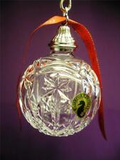 WATERFORD CRYSTAL 2012 LISMORE ANNUAL BALL CHRISTMAS ORNAMENT NEW IN BOX