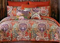 *Tracy Porter Fiona Poetic Wanderlust Floral Cotton Queen Quilt NEW