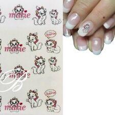 Nagelsticker mit Katze Wassertransfer Sticker Nagelaufkleber Nagelfolie B1377