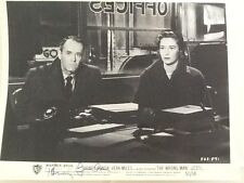 """Henry Fonda SIGNED 8x10 Photo with Vera Miles in """"The Wrong Man"""" 1957"""
