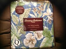 Tommy Bahama Quilt Set Twin 2pc Key Largo Place Blue New Tropical Floral (Have 3