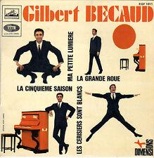GILBERT BECAUD LA GRANDE ROUE FRENCH ORIG EP BERNARD GERARD