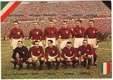 Cartolina Squadra Torino Calcio – La Classica Formazione Del Torino Campione D'I