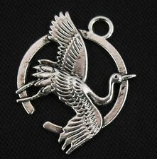 Free Ship 20pcs Tibetan Silver Bird Charms Pendants  28x21mm