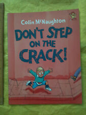 Don't Step on the Crack by Colin McNaughton (Paperback, 2002) funny story 3+