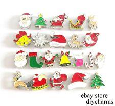 5pcs 8mm Mix Christmas Holiday Slider Charms For Phone Strip Name Bracelet SL437